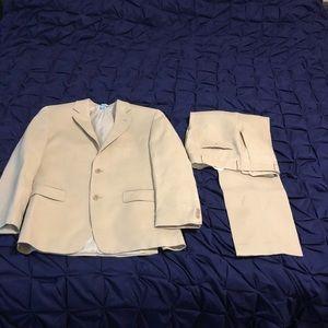 Michael Kors 2 Piece Linen Suit 38R